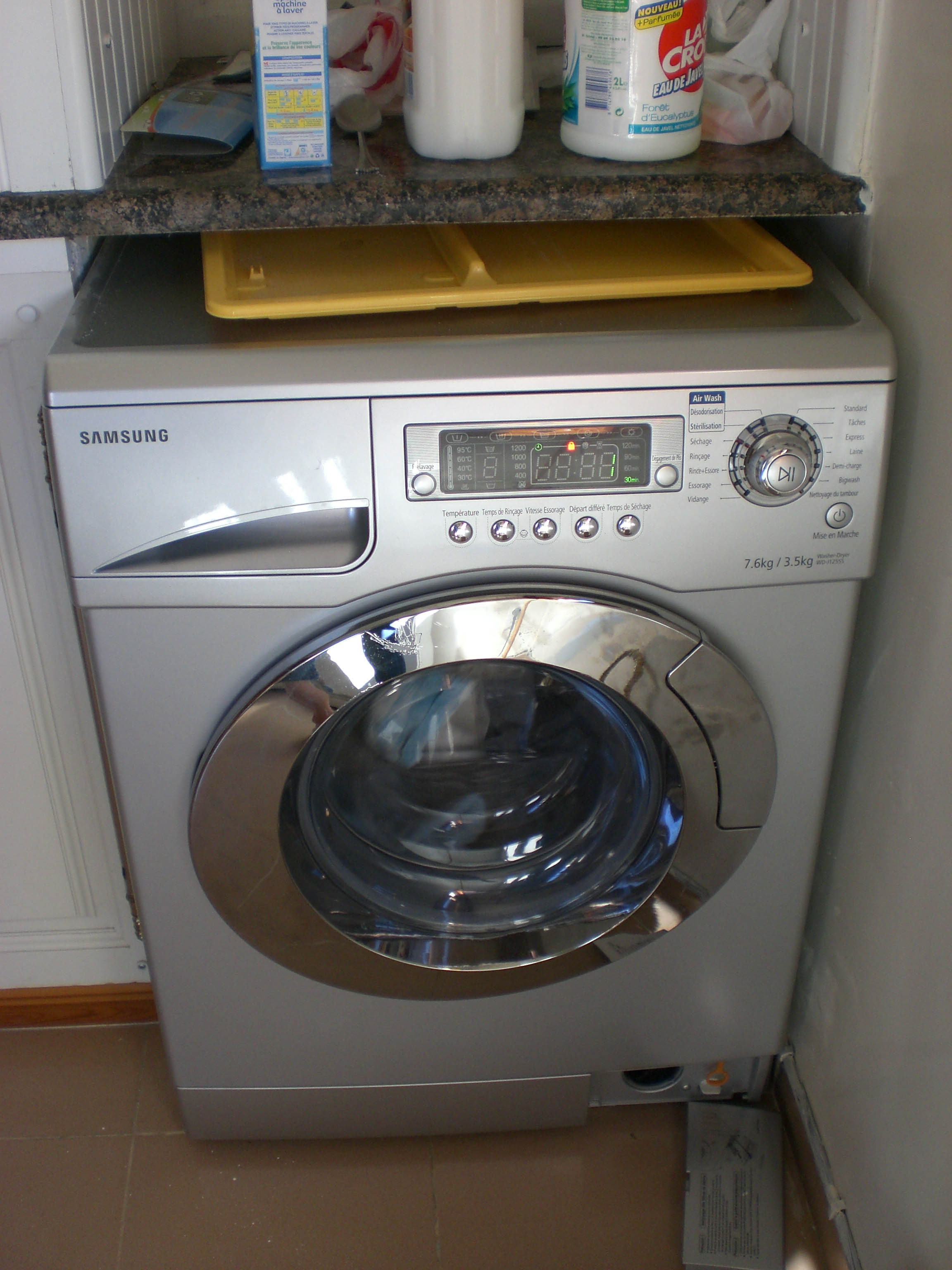 Awesome Washer And Dryer In One Part - 6: Gwenu0027s Adventures In The Foreign Service
